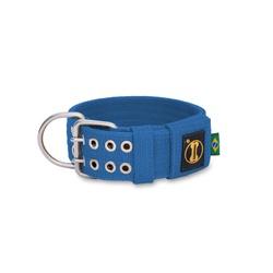 Coleira Para Cachorro Amorosso Azul - COL-A10 - AMOROSSO