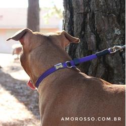 Colar de Ajuste Amorosso® - Roxo e Preto - EFL2802 - AMOROSSO