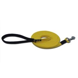 GUIA LONGA de 5 METROS Amarelo e Preto - guial5m - AMOROSSO