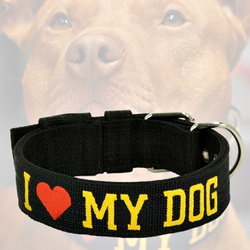 Coleira Amorosso® I love My Dog - FIT03DG - AMOROSSO