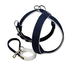 Peitoral Tradicional Amorosso® (azul marinho e bra... - AMOROSSO