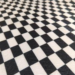 Tecido Bag Chevrom Preto e Branco - 8330 - APOLO ARTES
