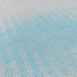 Tecido Panamá Listra Azul - 15050 - APOLO ARTES