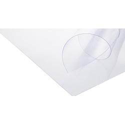 Plástico Transparente PVC Cristal 0.6mm 1m com Pap... - APOLO ARTES