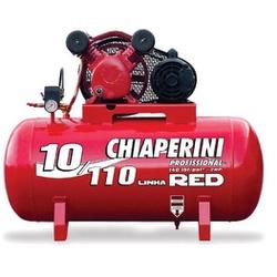 COMPRESSOR AR 10/110 RCV-RED TRIFÁSICO - CHIAPERINI - 24565 - ARARENSEFERRAMENTAS
