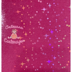 BOPP LITTLE STAR ( ESTRELINHAS) 2 m x 31 cm - AC E... - ARTESANA CARTONAGEM