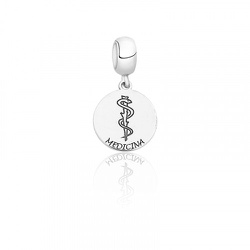 Berloque em Prata 925 Medicina - 6.4 - AS JOIAS