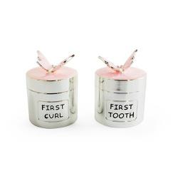 Caixa Primeiro Dente e Cabelo Borboleta - Astuti Casa