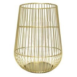 Lanterna Decorativa Gold G - Astuti Casa