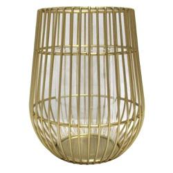 Lanterna Decorativa Gold M - Astuti Casa