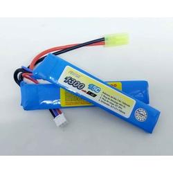 Bateria Lipo 2s 7.4v 1300mah 15c - azFFB-021as - Airsoft e Armas de Pressão Azsports