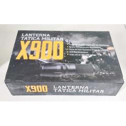 Lanterna Tatica Militar LED X900 - 0189147050755 - Airsoft e Armas de Pressão Azsports