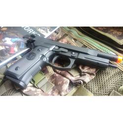PISTOLA DE AIRSOFT KJW M9A1 FULL METAL GREEN GAS B... - Airsoft e Armas de Pressão Azsports