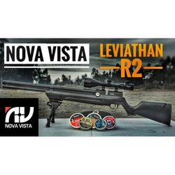 Carabina de Pressão PCP Nova Vista Leviathan cal 5... - Airsoft e Armas de Pressão Azsports