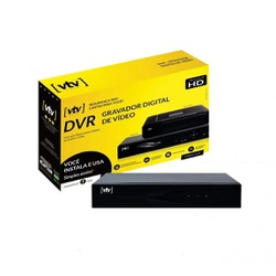 DVR 8CH 1080P + HD 500G - BA Elétrica - Sua Loja de Materiais Elétricos em Manaus