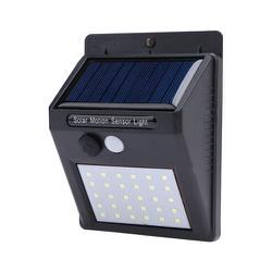 LUMINÁRIA SOLAR EXTERNA P/ JARDIM COM 20 LEDS - BA Elétrica - Sua Loja de Materiais Elétricos em Manaus