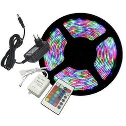 FITA LED COLORIDA IP20 COM CONTROLE + FONTE 127V C... - BA Elétrica - Sua Loja de Materiais Elétricos em Manaus