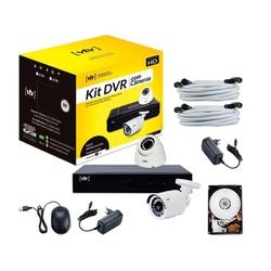 KIT DVR AHD 5X1 1080P 4CH + HD 500GB + 2 CÂMERAS - BA Elétrica - Sua Loja de Materiais Elétricos em Manaus