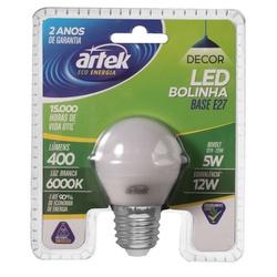 LÂMPADA LED BOLINHA 5W E-27 - BA Elétrica - Sua Loja de Materiais Elétricos em Manaus