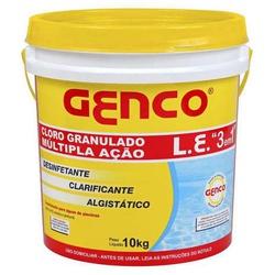 CLORO GRANULADO MÚLTIPLA AÇÃO 3 EM 1 10KG - BA Elétrica - Sua Loja de Materiais Elétricos em Manaus