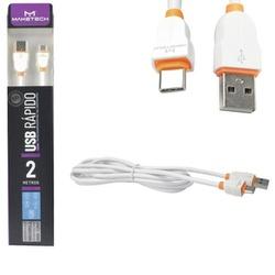 CABO USB RÁPIDO LS02 2M TYPE C - BA Elétrica - Sua Loja de Materiais Elétricos em Manaus