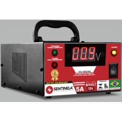 CARREGADOR DE BATERIA DIGITAL 5A 12V - BA Elétrica - Sua Loja de Materiais Elétricos em Manaus