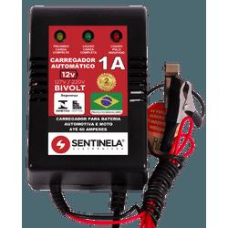 CARREGADOR BATERIA COM LED SEM DISPLAY 1A 12V - BA Elétrica - Sua Loja de Materiais Elétricos em Manaus
