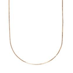 Corrente ouro amarelo 18k - Veneziana - B1073 - BAMBINA JOIAS