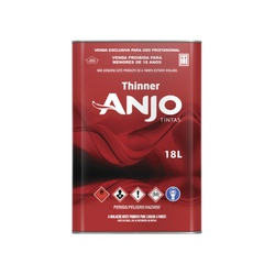 THINNER 2750 18L ANJO - Baratão das Tintas