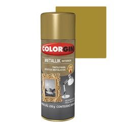 COLORGIN SPRAY METALLIK DOURADO 350ML - Baratão das Tintas