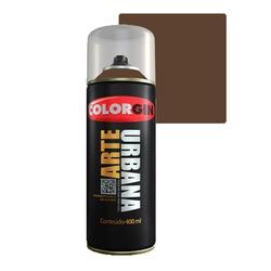 COLORGIN SPRAY ARTE URBANA MARROM TABACO 930 400ML - Baratão das Tintas