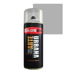 COLORGIN SPRAY ARTE URBANA PRATA 990 400ML - Baratão das Tintas