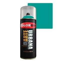 COLORGIN SPRAY ARTE URBANA VERDE MATA 911 400ML - Baratão das Tintas