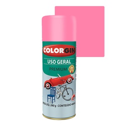 COLORGIN SPRAY USO GERAL ROSA BIKE 400ML - Baratão das Tintas