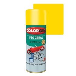 COLORGIN SPRAY USO GERAL AMARELO 400ML - Baratão das Tintas
