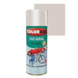 COLORGIN SPRAY USO GERAL PRATA REAL 400ML - Baratão das Tintas