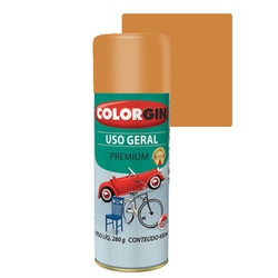 COLORGIN SPRAY USO GERAL BEGE BRASTEMP 400ML - Baratão das Tintas
