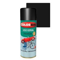 COLORGIN SPRAY USO GERAL PRETO STAR 400ML - Baratão das Tintas
