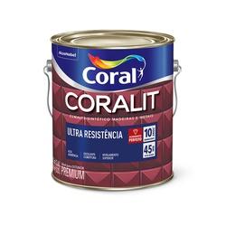 CORALIT ESMALTE BRILHANTE TABACO 3,6L - Baratão das Tintas