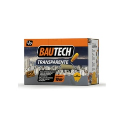 BAUTECH MANTA LÍQUIDA TRANSPARENTE BRILHANTE 3,5KG - Baratão das Tintas