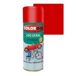 COLORGIN SPRAY USO GERAL VERMELHO 400ML - Baratão das Tintas