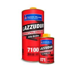 VERNIZ PU 7100 COM CATALISADOR LAZZURIL - Baratão das Tintas