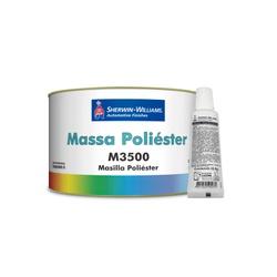 MASSA POLIÉSTER M3500 LAZZURIL 1,5KG - Baratão das Tintas