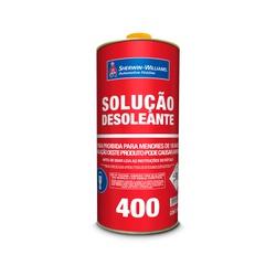 SOLUÇÃO DESOLEANTE LAZZURIL 900ML - Baratão das Tintas