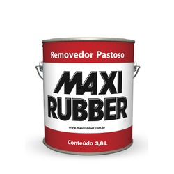 REMOVEDOR PASTOSO MAXI RUBBER 3,6L - Baratão das Tintas