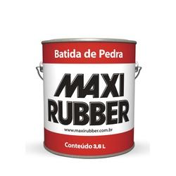 BATIDA DE PEDRA BRANCO MAXI RUBBER 3,6L - Baratão das Tintas