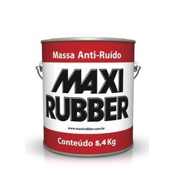 MASSA ANTI-RUÍDO MAXI RUBBER 5,4KG - Baratão das Tintas