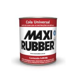 COLA UNIVERSAL MAXI RUBBER 3,09KG - Baratão das Tintas