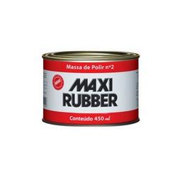 MASSA DE POLIR Nº 2 MAXI RUBBER 490GR - Baratão das Tintas