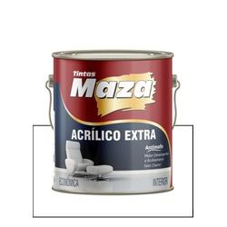 MAZA ACRÍLICO EXTRA BRANCO 3,6L - Baratão das Tintas